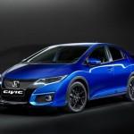 Honda Civic 2015 เวอร์ชั่นยุโรป เผยโฉมไมเนอร์เชนจ์