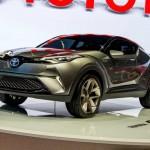 Toyota C-HR Concept เวอร์ชั่น 5 ประตูเผยโฉมแล้ว