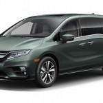 2018 Honda Odyssey เวอร์ชั่นอเมริกาเหนือใหม่เผยโฉมแล้ว