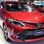 ราคารถใหม่ Toyota ประจำเดือนเมษายน 2560