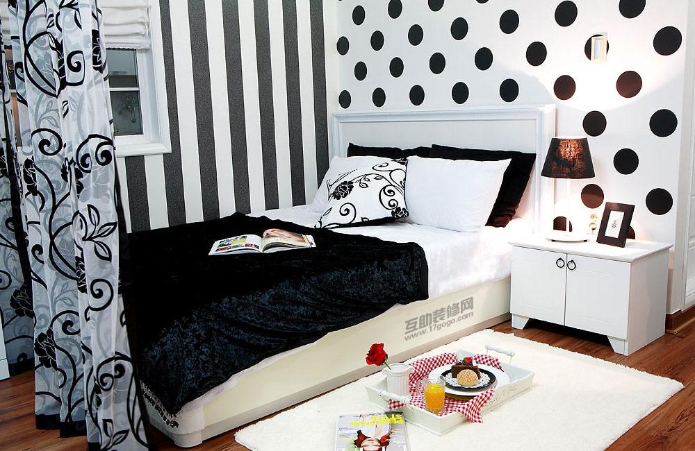 ห้องนอนสวยๆสีดำ1