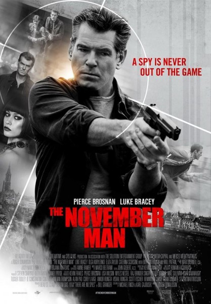 The November Man พลิกเกมส์ฆ่า ล่าพยัคฆ์ร้าย