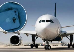 iPhone 5 ระเบิดบนเครื่องบิน
