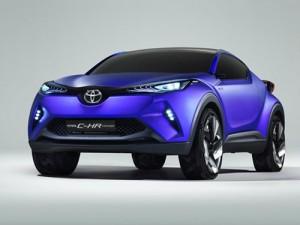 Toyota C-HR ใหม่