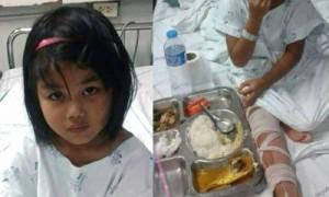 เด็กหญิง 5 ขวบถูกทิ้งในป่าสงขลา