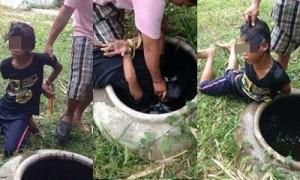 เจ้าของสวนจับเด็กเขมรกดน้ำ ฉุนลักมะพร้าว