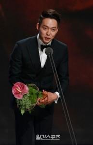 พัคยูชอน คว้านักแสดงหน้าใหม่ Sea Fog ใน Paeksang Arts Awards