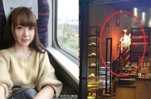 ไอดอลวง SNH48 ถูกไฟคลอกบาดเจ็บสาหัสจากไฟแช็คที่เจ้าตัวจุดเอง
