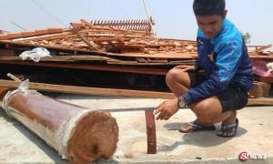 สาเหตุบ้านทรงไทยพังถล่ม มีน็อตยึดเสาแค่ 2 ตัว