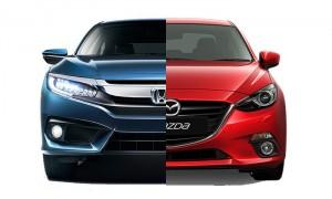 เทียบสเป็ค Honda Civic Turbo RS และ Mazda 3 SP Sports รุ่นท็อปทั้งคู่