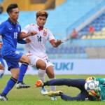 ช้างศึก ตีเจ๊า เมียนมา 1-1 ลิ่วตัดเชือก U19 ชิงแชมป์อาเซียน