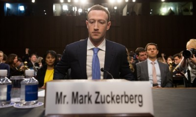 Facebook founder and CEO Mark Zuckerberg arrives to testify following a break during a Senate Commerce, Science and Transportation Committee and Senate Judiciary Committee joint hearing about Facebook on Capitol Hill in Washington, DC, April 10, 2018. Facebook chief Mark Zuckerberg apologized to US lawmakers Tuesday for the leak of personal data on tens of millions of users as he faced a day of reckoning before a Congress mulling regulation of the global social media giant.In his first-ever US congressional appearance, the Facebook founder and chief executive sought to quell the storm over privacy and security lapses at the social network that have angered lawmakers and Facebook's two billion users.  / AFP PHOTO / SAUL LOEB