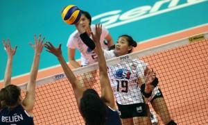 นักตบลูกยางสาวไทย พ่าย สาวแดนกังหัน 0-3 ประเดิมศึกเนชั่นส์ลีก 2018