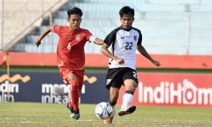 ไทย พ่าย เมียนมา 0-1 ชวดป้องกันแชมป์อาเซียน U19