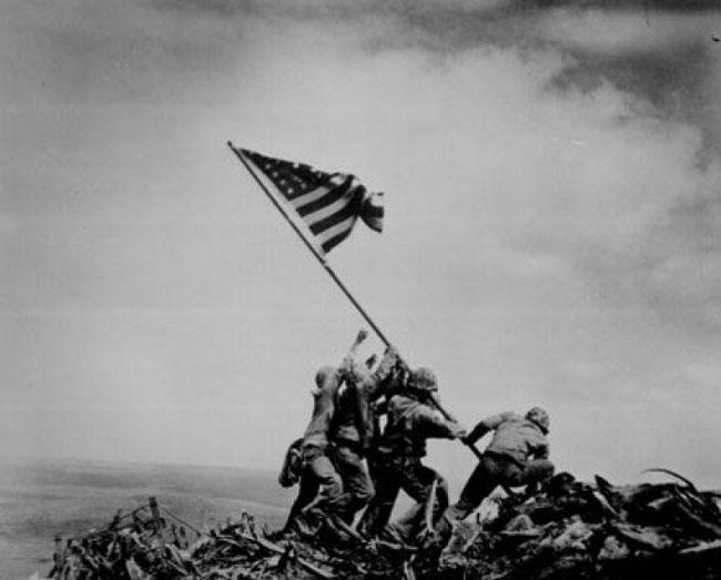 การอัญเชิญธง ณ อิโวจิม่า